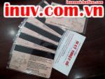 [In ấn mọi chất liệu] In thẻ nhựa, name card nhựa trong suốt, menu nhựa