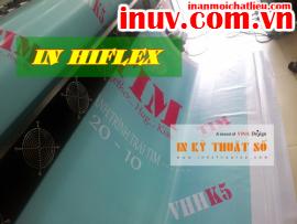 [In ấn mọi chất liệu] In phông nền quảng cáo với bạt hiflex