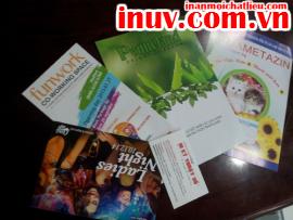 [In ấn mọi chất liệu] In offset trên chất liệu giấy với name card, folder, catalogue, tờ rơi, brochure
