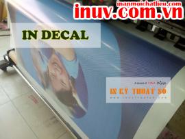 [In ấn mọi chất liệu] In trang trí kính với decal lưới