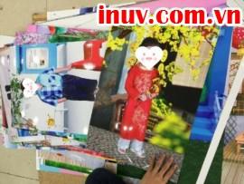 In ảnh cho bé - In ảnh giá rẻ TPHCM bằng công nghệ in UV