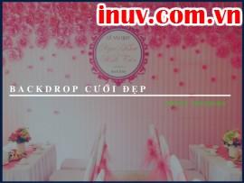In backdrop cưới siêu đẹp, ý tưởng thiết kế backdrop cưới nổi bật