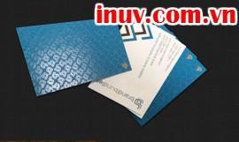 [In phun UV] In phun UV toàn phần logo công ty trên name card