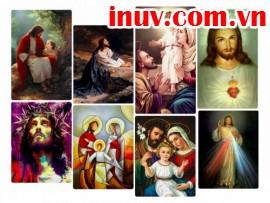 In tranh ảnh Công giáo đẹp Tp HCM bằng công nghệ in UV chất lượng