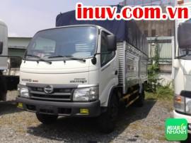 Xe tải Hino 1.9 Tấn XZU650L thùng kín